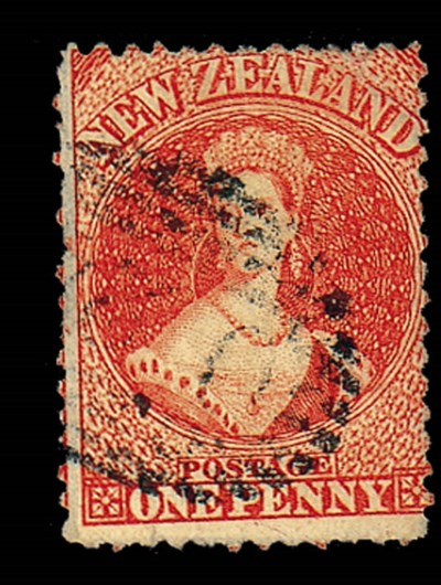 used  PERFORATED 13 AT DUNEDIN