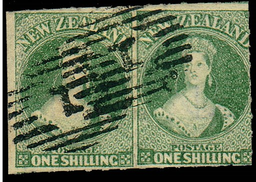 used  -- 1/- green pair with r