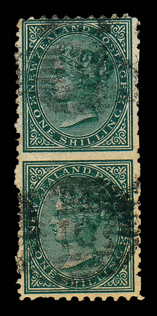used  -- 1/- green vertical pa