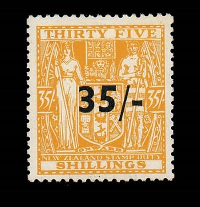 unused  1939 35/- on 35/- and