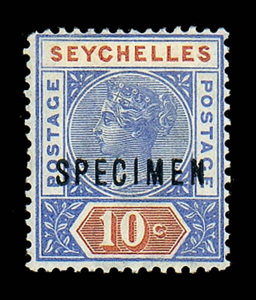 Specimen  -- 10c. ultramarine