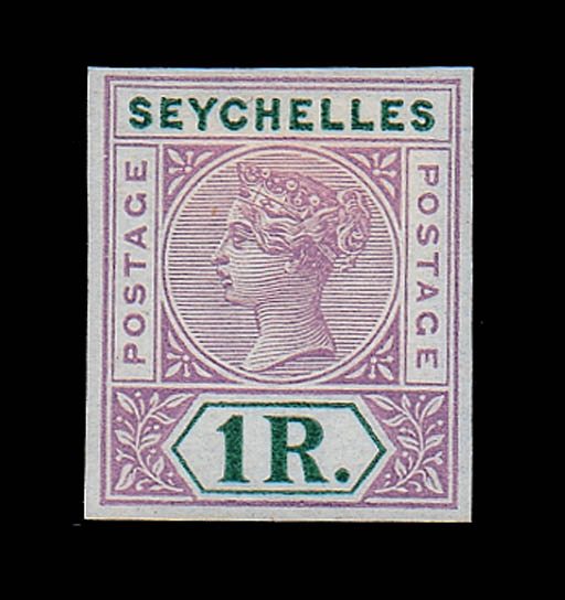 Proof  In lilac and blue-green