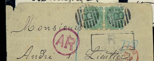 cover 1899 (2 Oct.) envelope (