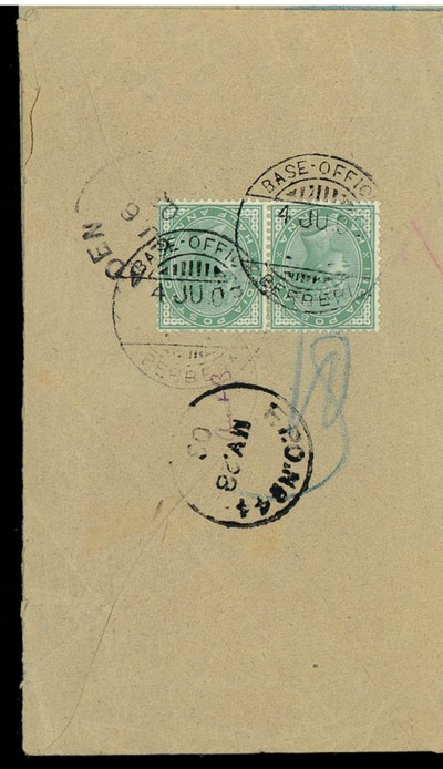 cover 1903 (28 May) envelope t