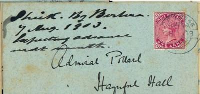 cover 1903 (4 Nov.) envelope (