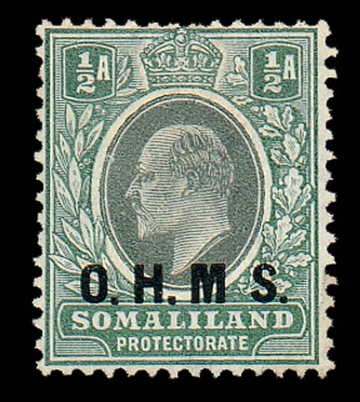 unused  1904-05 CA ½a. dull gr