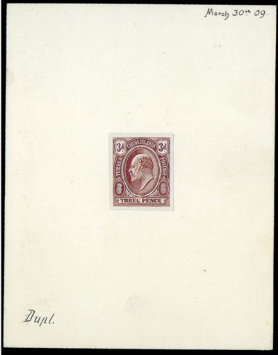 essay  3d. in issued design, s