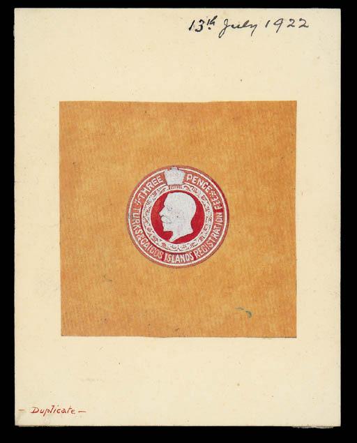 essay  1922 registered envelop