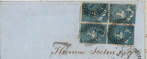 cover -- 3d. deep blue, a bloc