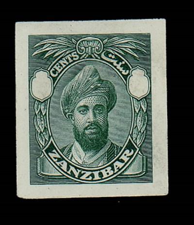 Proof  1926-27 stamp-size mast