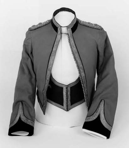 An Officer's Mess Dress of the