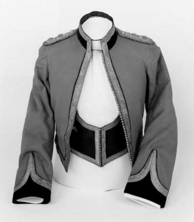 An Officer's Mess Dress of the