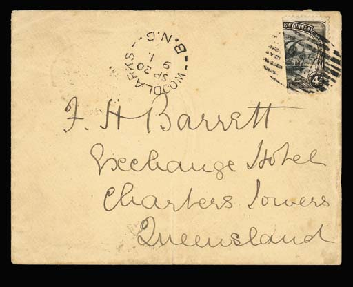 cover 1901 (20 Sept.) envelope