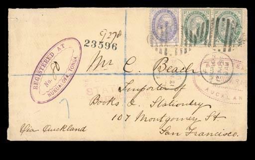cover 1888 (13 Nov.) envelope