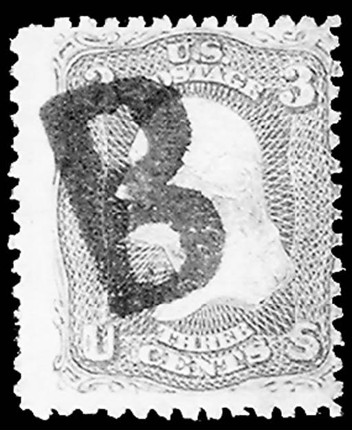 3c Rose Z grill (85C), used, b
