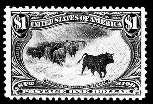 $1.00 Trans-Mississippi (292),