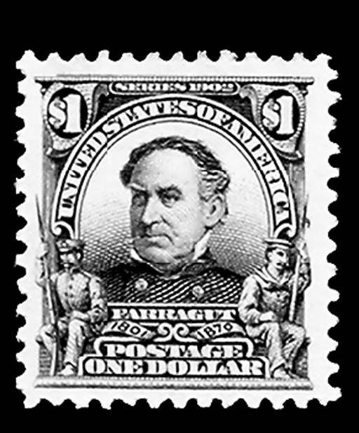 $1.00 Black (311), unused, o.g