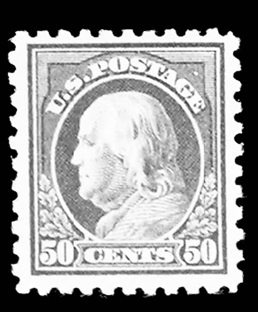 50c Violet (440), unused, o.g.