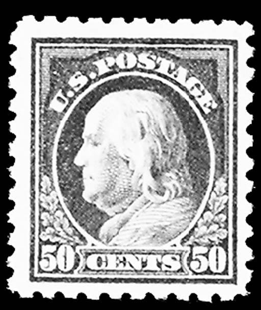 50c Light Violet (477), unused