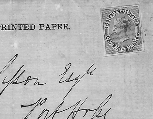 1857, ½p Rose (8, Gibbons 17),