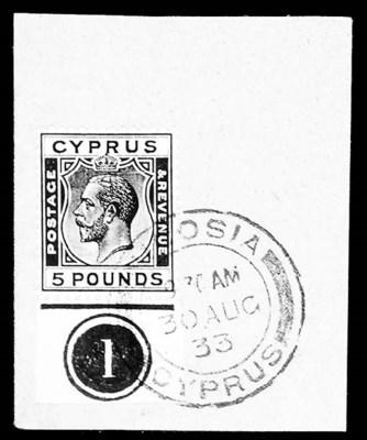 1928, £5 Black on yellow (109,