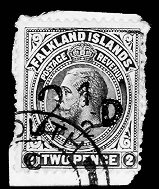 1928, 2½p on 2p Brown Violet,