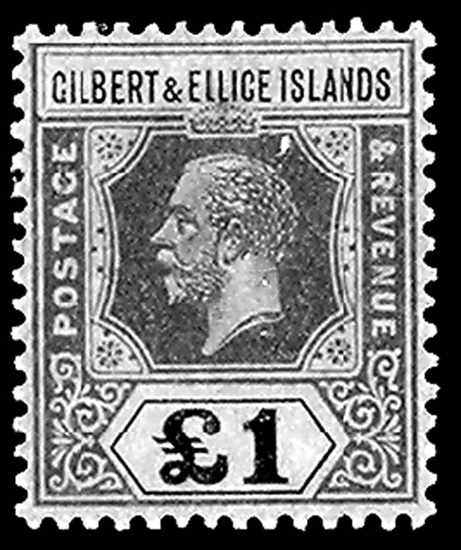 Gilbert & Ellice Islands, 1924