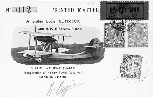 1925, First Flight of Amphibia