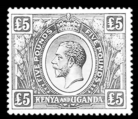 1922, £5 Blue & Black (41, Gib