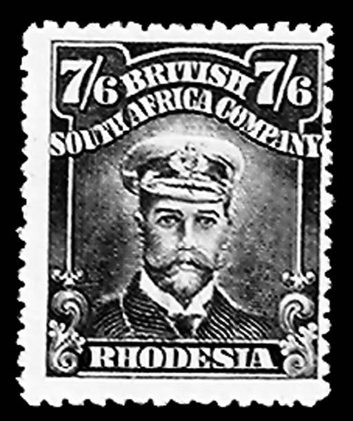 1913, 7sh6p Slate Black & Maro