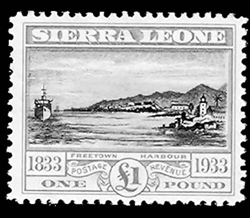 --, 1933, ½p-£1 Wilberforce (1