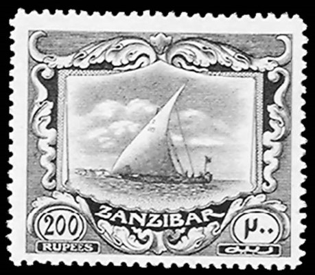 --, 1913, 10r-200r Dhows (134-