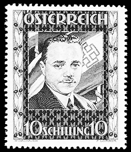 Austria, 1936, 10s Dollfuss (3