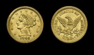 $2½, 1846-O EF-45 (PCGS).    L