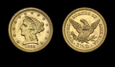 $2½, 1856-S MS-67 (PCGS).    T
