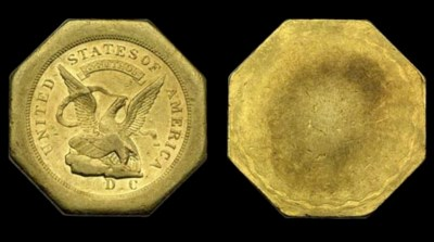 1851 Augustus Humbert, U.S. As