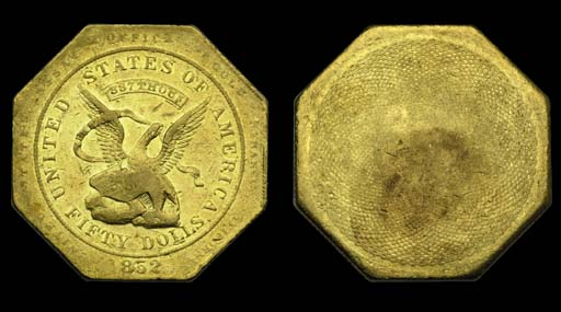 1852 United States Assay Offic