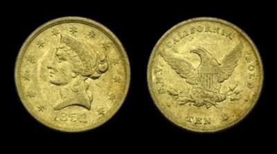 1852 Wass, Molitor & Co. $10 g