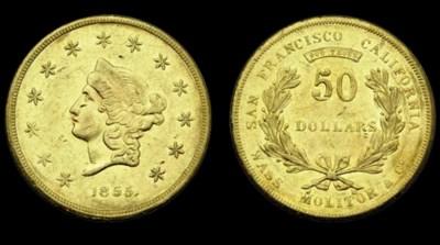 1855 Wass, Molitor & Co. $50 g