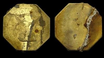 1851 Augustus Humbert. $50 gol