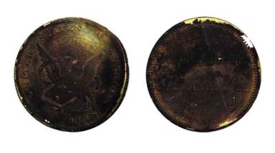 1852/1 Augustus Humbert. $10 g