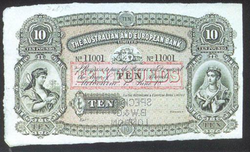 Australian and European Bank,