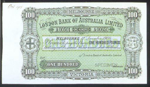 London Bank of Australia Limit