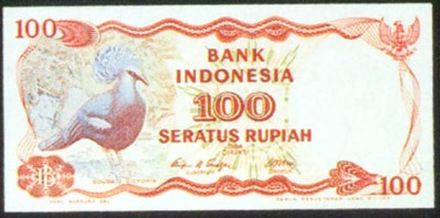 Bank Indonesia, specimen 100 r