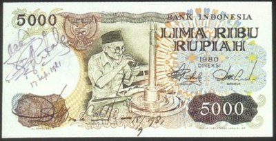 Bank of Indonesia, 5000 rupiah
