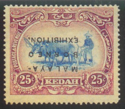 unused  25c. blue and purple,