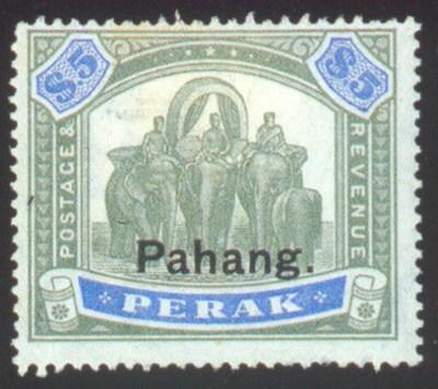 unused  1898-99 on Perak, $1 a