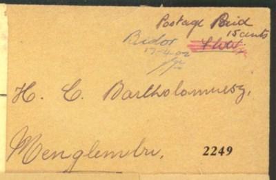 cover 1942 (17 Apr.) envelope