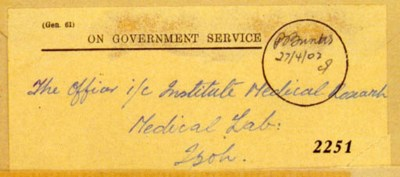 cover 1942 (27 Apr.) OGS envel