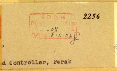 cover 1942 (8 May) envelope to
